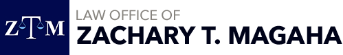 Law Office of Zachary T. Magaha Header Logo